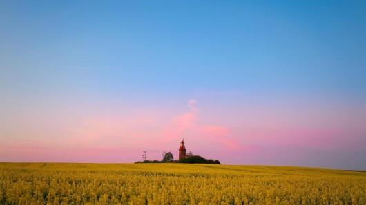 Weithin sichtbar:Der Bastorfer Leuchtturm auf dem Bastorfer Signalberg.