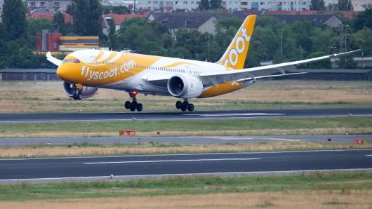 Die Airline Scoot überrascht mit einer Flugzeugabzocke. (Symbolfoto)