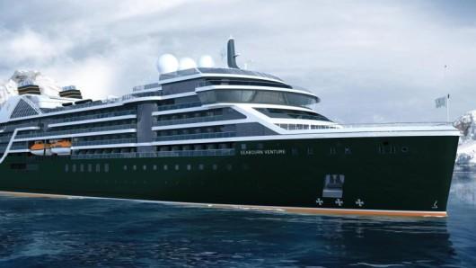 Seabourn Venture wird das erste neue Expeditionskreuzfahrtschiff von Seabourn heißen. Die Auslieferung ist für 2021 geplant.