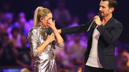 Helene Fischer und Florian Silbereisen bei einem gemeinsamen Auftriff in der ARD nach ihrer Trennung.