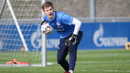 Alexander Nübel hat sich mit starken Leistungen bei Bayern München ins Gespräch gebracht.