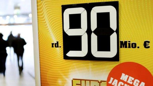 Seit dem Start des Eurojackpots im Jahr 2012 hatte die europäische Lotterie zum siebten Mal die gesetzlich festgelegte Obergrenze von 90 Millionen Euro erreicht. Foto. Martin Gerten