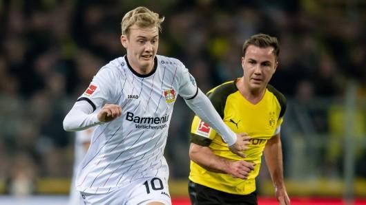 Schon bald Teamkollegen? Julian Brandt und Mario Götze könnten nächste Saison zusammen wirbeln.
