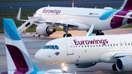 Eurowings streicht im Smart-Tarif die Snacks und Getränke.