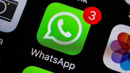 Whatsapp hat eine neue Funktion: den Nachtmodus. (Symbolfoto)