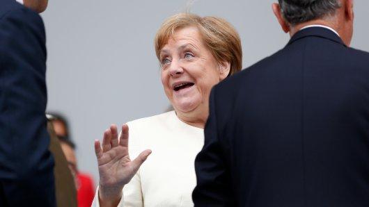 Angela Merkel hatte bei einem Statement vor Journalisten Kurzatmigkeit. Die Erklärung dahinter ist ganz harmlos.