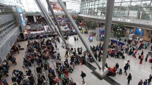 Am Flughafen Düsseldorf kam es am Abend zu einem Zwischenfall.