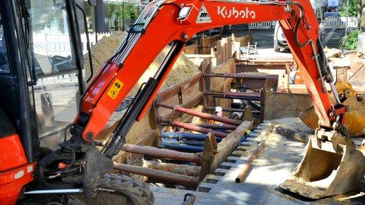 In Wachtberg fanden Bauarbeiter Überreste eines Menschen.