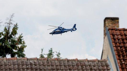 Bei einem spektakulären Einsatz in Bochum musste ein Hubschrauber anrücken. (Symbolbild)
