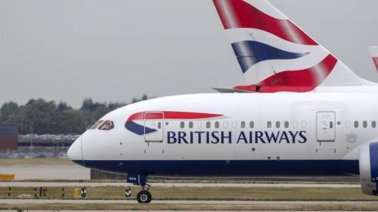 Bleibt am Boden: Wegen eines Streiks hat British Airways nahezu alle Flüge gestrichen.