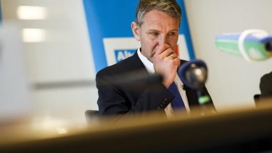 AfD-Thüringen-Chef Björn Höcke wirbt mit einem Comic für sich und seine Partei.