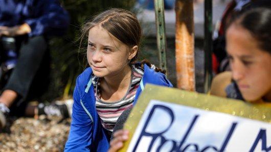 Die 16-jährige Greta Thunberg: Für viele ist sie eine Heldin - andere bedrohen sie.
