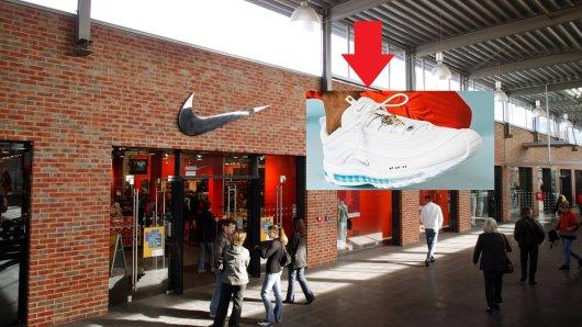 Nike: Der Sneaker war trotz seines Preises nach wenigen Minuten ausverkauft. (Smybolbild)