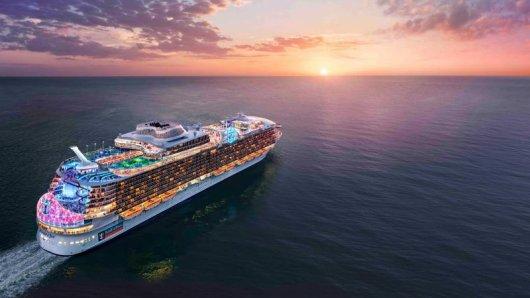 Die Wonder of the Seas wird 2021 in See stechen und nach jetzigem Stand das größte Kreuzfahrtschiff der Welt sein.