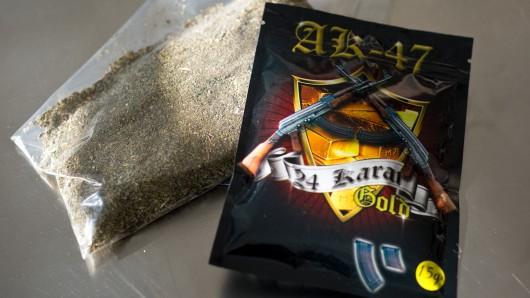 Drogenhandel: Die Verpackung soll einen harmlosen Eindruck vermitteln. (Symbolbild)