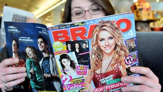 Bravo: Die Zeitschrift wird es weiter geben, aber ihre Leser müssen sich umstellen. (Symbolbild)