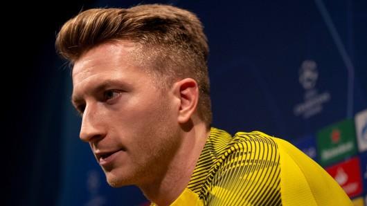 """Marco Reus, Kapitän von Borussia Dortmund, ist heiß auf das Duell gegen Barca: """"Geiles Spiel in einer geilen Stadt bei einem geilen Verein."""""""