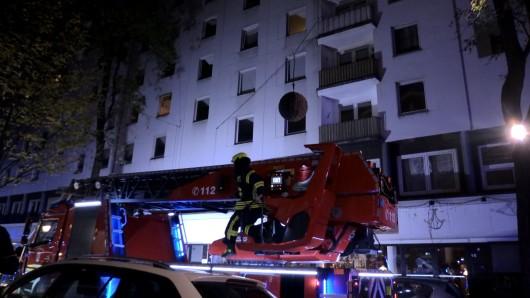 Oberhausen: Die Polizei ermittelt nun zu der Brandursache. (Symbolbild)