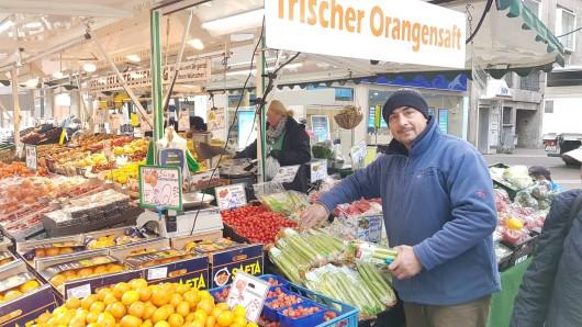 Essen: Der Obst- und Gemüsehändler hat jahrzehntelange Erfahrung.