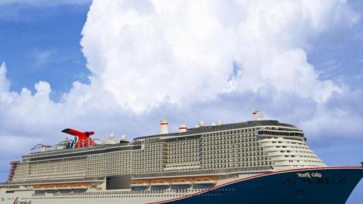 Die Mardi Gras wird mit 5200 Passagieren das größte Schiff der Carnival-Flotte - doch die Auslieferung verzögert sich.