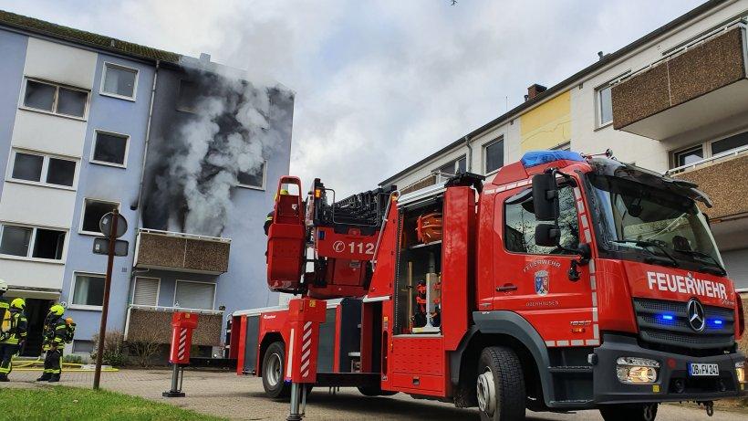 Oberhausen Brand
