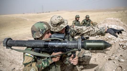Iran-Konflikt: Die Bundeswehr will jetzt drastische Schritte im Irak gehen. (Archiv)