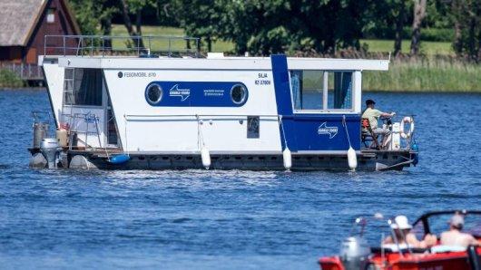 Ein beliebtes Revier für Bootsurlauber sind die Wasserstraßen rund um die Havel.