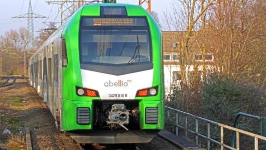 Abellio: Bahnfahrer dürften wenig begeistert sein. (Symbolbild)
