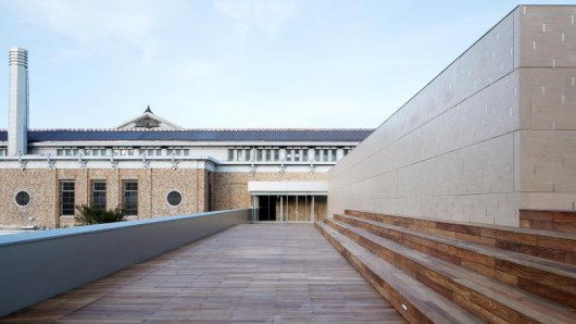 Neueröffnung nachRenovierung: das Kyoto City Kyocera Museum of Art.
