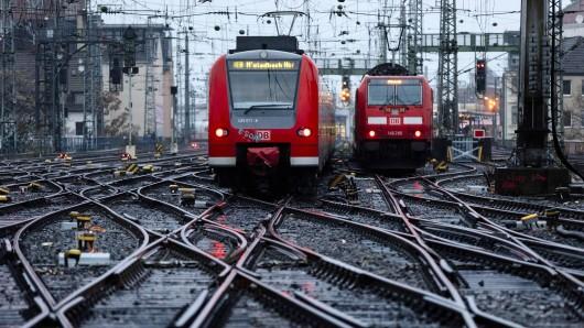 Deutsche Bahn: Pendler müssen mit Problemen beim Zugverkehr rechnen. (Symbolbild)