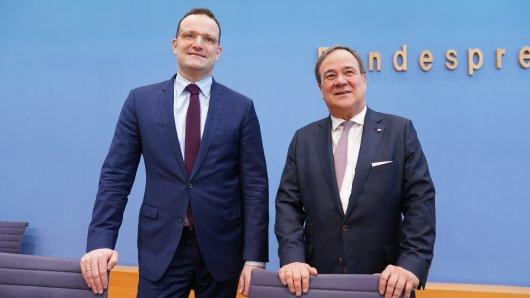 Armin Laschet will CDU-Vorsitzender werden, Jens Spahn könnte sein Stellvertreter werden.