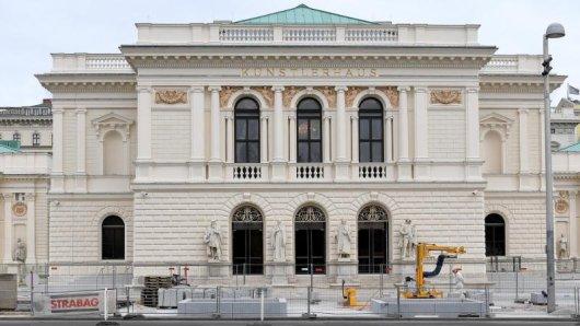Das generalrenovierte Künstlerhaus am Karlsplatz. Der Milliardär H. P. Haselsteiner hat mit 57 Millionen Euro sämtliche Kosten zur Sanierung des einst heruntergekommenen Gebäudes von 1868 übernommen.