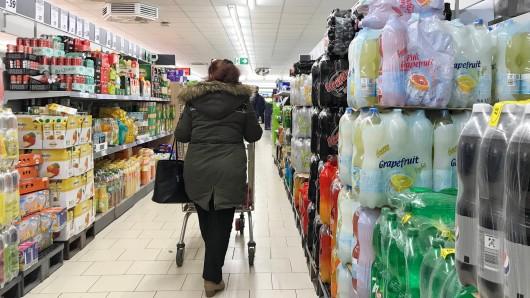 Essen: Am Mittwochmittag eskalierte ein Streit in einem Supermarkt aus unfassbarem Grund. (Symbolbild)