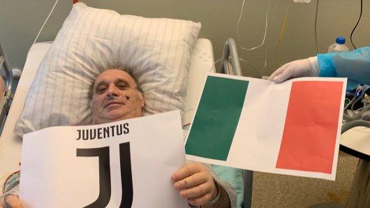 Claudio ist großer Fan von Juventus Turin.