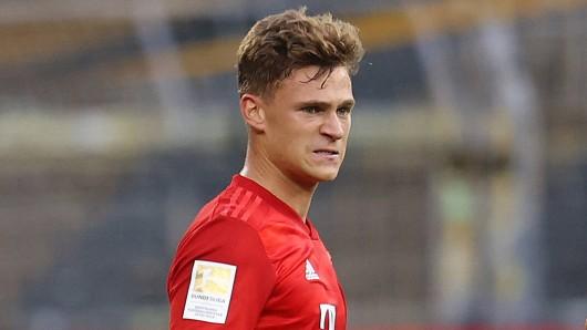 Nach dem Sieg des FC Bayern München jubelte Matchwinner Joshua Kimmich am lautestenn.
