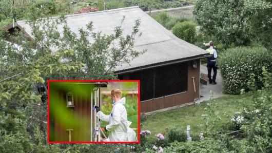 In dieser Gartenlaube in Münster sollen Kinder stundenlang missbraucht worden sein.