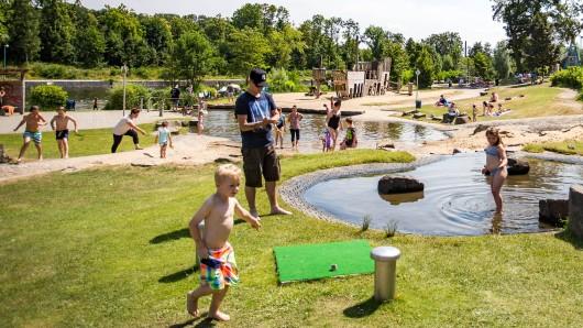 NRW: DIESE Wasserspielplätze im Ruhrgebiet und der Umgebung sind wieder geöffnet. (Symbolbild)