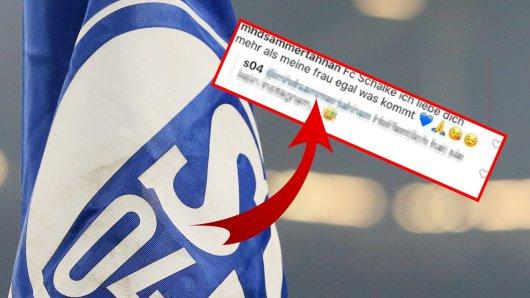 Der FC Schalke 04 erhielt eine kuriose Nachricht.