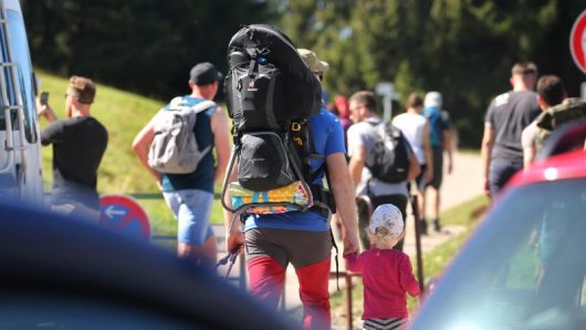 Während der Corona-Pandemie hat sich Wandern in der diesjährigen Urlaubssaison als Krisen-Gewinner entpuppt. (Symbolbild).