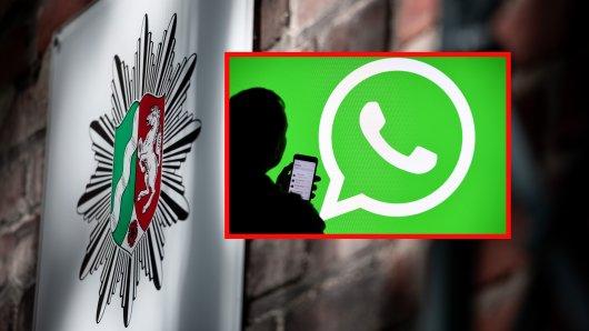 Polizei Essen: Ein Rechtsextremismus-Skandal erschüttert NRW. (Fotomontage)