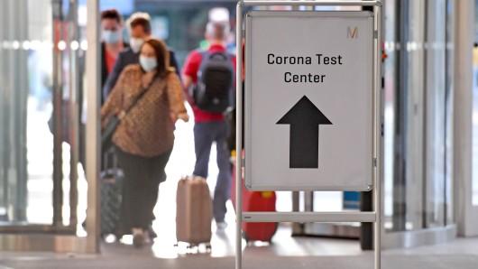Flughafen: Der Airport führt einen irren Corona-Test ein. (Symbolbild)