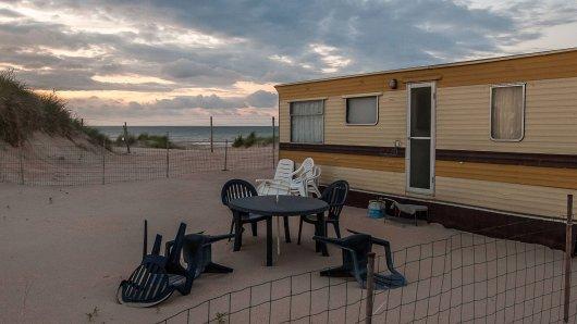 Urlaub an der Nordsee: Ein Campingplatz-Betreiber erhält Morddrohungen. (Symbolbild)