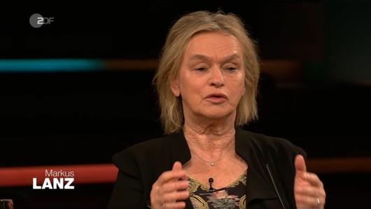 Markus Lanz (ZDF): Bei dieser simplen Frage platzt Elke Heidenreich der Kragen!