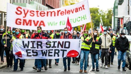 NRW: Verdi führt am Dienstag noch noch größer angelegten Streik durch als am Vortag. (Symbolbild)