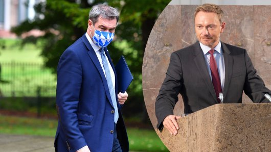 Bayerns Innenminister Markus Söder (CSU) hat mit einer Aussage FDP-Chef Lindner geschockt.