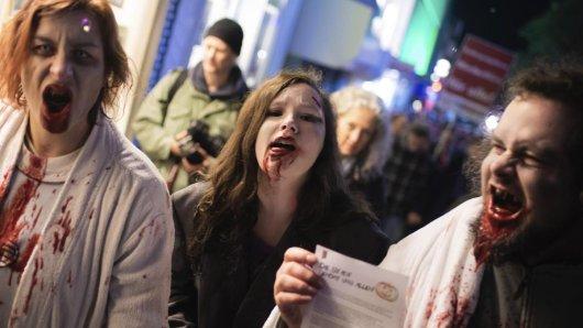 Die Essener Innenstadt muss dieses Jahr an Halloween ohne Zombies auskommen.