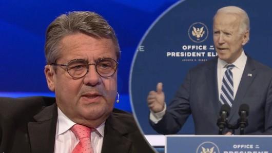Sigmar Gabriel ist als Ex-Vizekanzler in der Vergangenheit auf den neu gewählten US-Präsidenten Joe Biden getroffen.