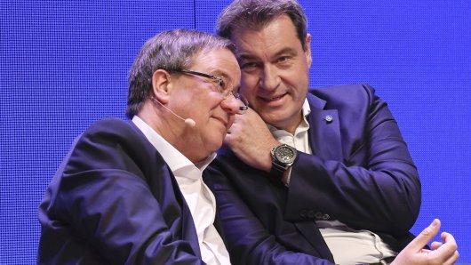 Armin Laschet und Markus Söder werden sich einigen müssen, wer Bundeskanzler-Kandidat wird.