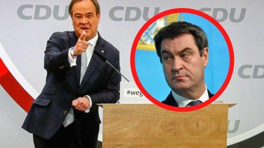 Markus Söder mit deutlicher Spitze gegen den neuen CDU-Parteivorsitzenden Armin Laschet.