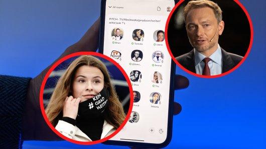 Luisa Neubauer und Christian Lindner mischen bei der App Clubhouse schon kräftig mit. Doch als normaler Handynutzer hast du aktuell kaum eine Chance, ebenfalls Teil des Netzwerks zu werden.